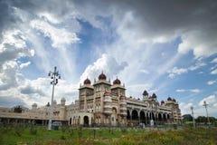 Το παλάτι του Mysore, Mysore, Karnataka Ινδία Στοκ εικόνα με δικαίωμα ελεύθερης χρήσης