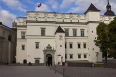 Το παλάτι των μεγάλων δουκών της Λιθουανίας σε Vilnius στοκ φωτογραφία με δικαίωμα ελεύθερης χρήσης