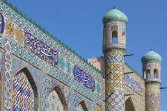 Το παλάτι Khudayar Khan είναι τα δημοφιλέστερα ορόσημα Fergan στοκ φωτογραφία