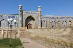 Το παλάτι Khudayar Khan είναι τα δημοφιλέστερα ορόσημα Fergan στοκ φωτογραφίες