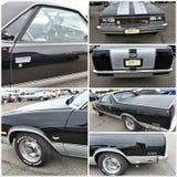 Το παλαιό αυτοκίνητο παρουσιάζει camino EL chevrolet της Νέας Υόρκης το 1984 Στοκ Φωτογραφίες
