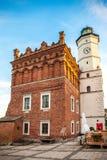 Το παλαιό Δημαρχείο και το κύριο τετράγωνο σε Sandomierz στοκ φωτογραφία με δικαίωμα ελεύθερης χρήσης