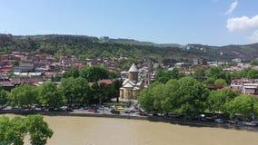 Το παλαιό μέρος του Tbilisi απόθεμα βίντεο