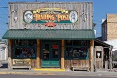 Το παλαιό μετα σπίτι εμπορικών συναλλαγών σε Custer στοκ εικόνες με δικαίωμα ελεύθερης χρήσης