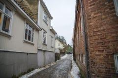 Το παλαιό νότιο ανάχωμα (στα νορβηγικά: Στοκ Φωτογραφίες