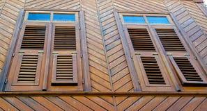 Το παλαιό ξύλινο κτήριο Στοκ εικόνα με δικαίωμα ελεύθερης χρήσης