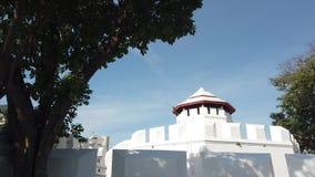 Το παλαιό οχυρό Phra Sumen της Μπανγκόκ Ταϊλάνδη απόθεμα βίντεο
