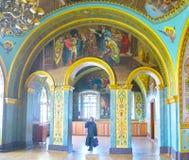 Το παλαιό parishioner σε Pochayiv Lavra Στοκ φωτογραφίες με δικαίωμα ελεύθερης χρήσης