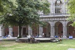 Το πανεπιστήμιο της Βιέννης Στοκ Φωτογραφία