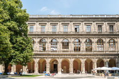 Το πανεπιστήμιο της Βιέννης (Universitat Wien) Στοκ εικόνα με δικαίωμα ελεύθερης χρήσης