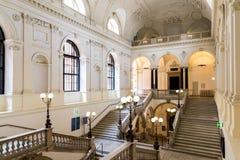 Το πανεπιστήμιο της Βιέννης (Universitat Wien) Στοκ Εικόνα