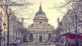 Το πανεπιστήμιο του Λα «Sorbonne» απόθεμα βίντεο