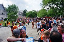 Το Πανεπιστήμιο του Princeton 2015 π -π-rade στοκ εικόνες