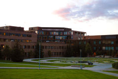 Το πανεπιστήμιο Tromso, Νορβηγία Στοκ εικόνα με δικαίωμα ελεύθερης χρήσης
