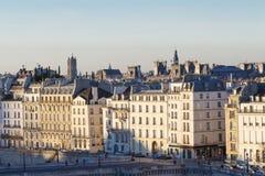 Το πανόραμα να ενσωματώσει το Παρίσι Στοκ Εικόνες