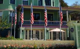 Το πανδοχείο σε Mackinac στοκ φωτογραφίες με δικαίωμα ελεύθερης χρήσης