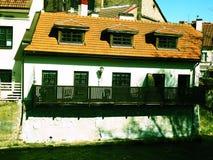 Το πανδοχείο στον ποταμό Vilnia Στοκ Εικόνες
