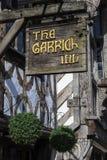 Το πανδοχείο Garrick σε stratford-επάνω-Avon Στοκ Εικόνες