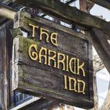Το πανδοχείο Garrick σε stratford-επάνω-Avon Στοκ εικόνες με δικαίωμα ελεύθερης χρήσης