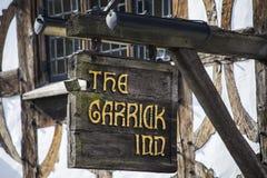 Το πανδοχείο Garrick σε stratford-επάνω-Avon Στοκ εικόνα με δικαίωμα ελεύθερης χρήσης