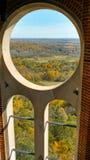 Το παράθυρο κύκλων αγνοεί Στοκ Εικόνες