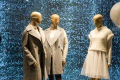 Το παράθυρο μόδας παρουσιάζει Στοκ εικόνες με δικαίωμα ελεύθερης χρήσης
