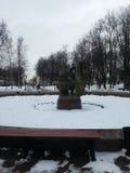Το παράξενο μνημείο Στοκ Εικόνα
