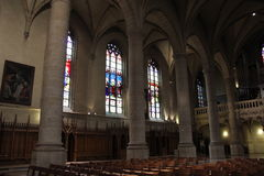 το παράδειγμα 1613 στολισμών επίσης αρχιτεκτονικής καθεδρικών ναών εκκλησιών ακρογωνιαίων λίθων στοιχείων κυρίας γοτθικό έχει εντ Στοκ εικόνες με δικαίωμα ελεύθερης χρήσης
