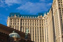Το Παρίσι Λας Βέγκας είναι ένα ξενοδοχείο και μια χαρτοπαικτική λέσχη Στοκ εικόνα με δικαίωμα ελεύθερης χρήσης