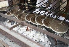 Το παραδοσιακό γλυκό τσιμπά το στάβλο ακρών του δρόμου στοκ εικόνα με δικαίωμα ελεύθερης χρήσης