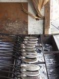 Το παραδοσιακό γλυκό τσιμπά το στάβλο ακρών του δρόμου στοκ φωτογραφία με δικαίωμα ελεύθερης χρήσης