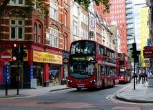 Το παραδοσιακό λεωφορείο του Λονδίνου στοκ φωτογραφία με δικαίωμα ελεύθερης χρήσης
