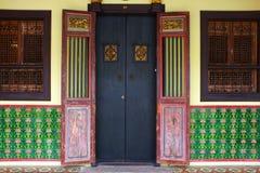 Το παραδοσιακό ταϊλανδικό ύφος Στοκ εικόνες με δικαίωμα ελεύθερης χρήσης
