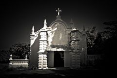 Το παρεκκλησι εκκλησιών του ST Cajetan του υπολοίπου σε Anjuna, Goa, Ινδία Στοκ φωτογραφία με δικαίωμα ελεύθερης χρήσης