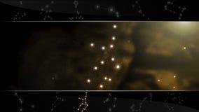 Το παρθένο σημάδι Virgo αστεριών Στοκ Εικόνα