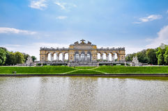 Το παλάτι Βιέννη Gloriette - Schönbrunn Στοκ Φωτογραφίες