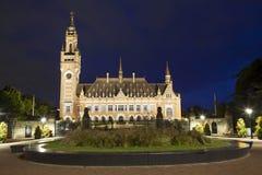 Το παλάτι ειρήνης στη Χάγη Στοκ Εικόνες