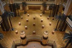Το παλάτι εμιράτων στο Αμπού Νταμπί Στοκ Εικόνα