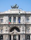 Το παλάτι της δικαιοσύνης στη Ρώμη, Ιταλία Στοκ φωτογραφία με δικαίωμα ελεύθερης χρήσης