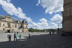 Το παλάτι του Φοντενμπλώ, Γαλλία Στοκ φωτογραφία με δικαίωμα ελεύθερης χρήσης