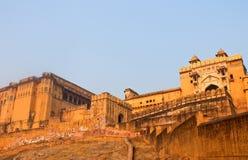 Το παλάτι-φρούριο στην Ινδία Στοκ Φωτογραφία