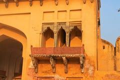 Το παλάτι-φρούριο στην Ινδία Στοκ Εικόνα
