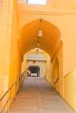 Το παλάτι-φρούριο στην Ινδία Στοκ Εικόνες