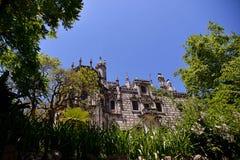 Το παλάτι Regaleira σε Sintra στοκ φωτογραφία με δικαίωμα ελεύθερης χρήσης