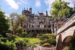 Το παλάτι Regaleira σε Sintra στοκ φωτογραφίες