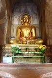 Το παλαιό άγαλμα του Βούδα στον παλαιό ναό παγοδών σε Bagan, το Μιανμάρ Στοκ εικόνα με δικαίωμα ελεύθερης χρήσης