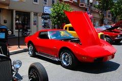 Το παλαιό αυτοκίνητο παρουσιάζει Στοκ Εικόνα