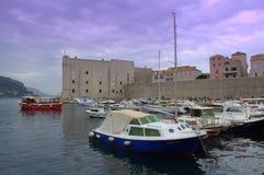 Το παλαιό λιμάνι σε Dubrovnik Στοκ Εικόνες