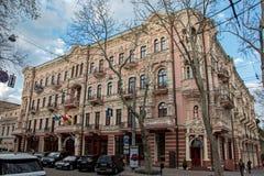 Το παλαιό κατοικημένο κτήριο Στοκ Εικόνα