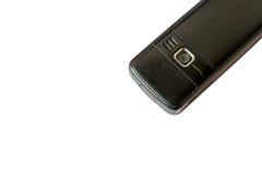 Το παλαιό κινητό τηλέφωνο απομόνωσε πίσω το άσπρο υπόβαθρο Στοκ εικόνα με δικαίωμα ελεύθερης χρήσης